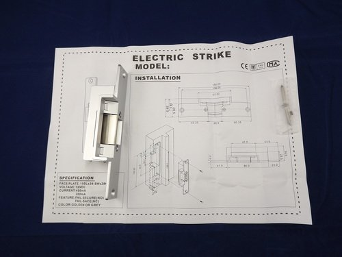 FCL-15AC Power Off-open Holding Force 1800kg for Wooden Doors Stainless Steel Electric Strikes Lock by FCARD (Image #2)
