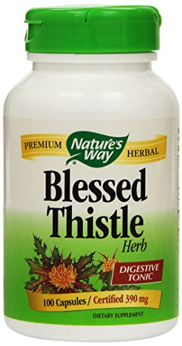 Nature's Way Blessed Thistle Herb 100 Capsules (390 mg) (3 Pack)