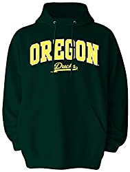 Ncaa Oregon Ducks Pullover Hood, Medium, Forest Green