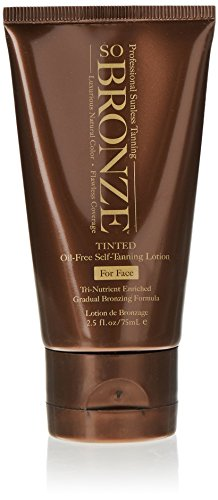 Hempz So Bronze Sunless Facial Lotion, Brown, Sweet Peach, 2