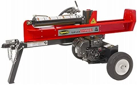 Speeco 597477 Hydraulic Log Splitter With 196cc Kohler Engine, 25 Ton