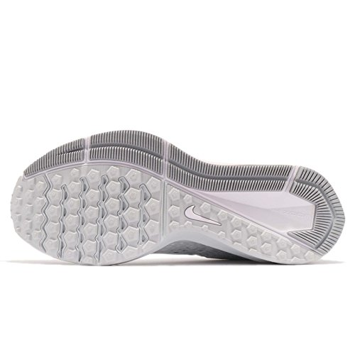 white Zoom 100 Nike Running De Platinum Winflo Blanc Homme Chaussures wolf white Grey Compétition 5 pure BWAWFv