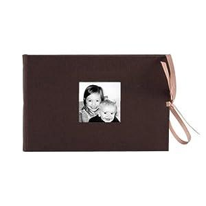 NOCI Chocolate-Brown/white mini album with 4x6 pockets by Kolo - 4x6