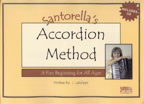Santorella's Accordion Method * Book 1A * with CD (Accordion Santorellas)