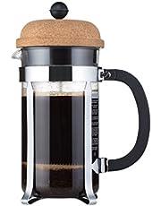 Bodum chambord koffiezetapparaat (French Press System, lekbescherming, roestvrijstalen frame)