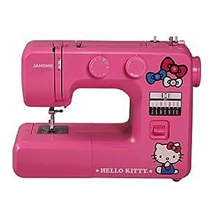 Janome 14412 Pink Hello Kitty Sewing Machine