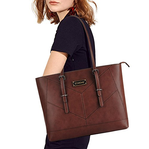 Laptop Bag for Women,13,14,15.6 Inch Laptop Tote Bag,Casual Work Tote Business Computer Bags for Women Shoulder ()