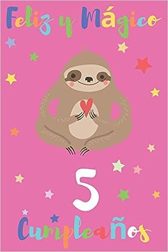 Feliz y Mágico 5 Cumpleaños: Regalo para Niños o Niñas de 5 ...