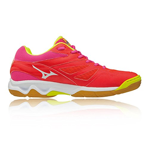 Mizuno Thunder Blade Women's Indoor Court Shoes - SS18 Orange X4p1FU