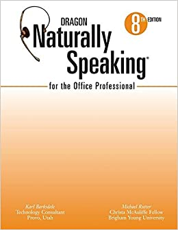 Book Dragon Naturally Speaking for the Office Prof (Custom) 8th