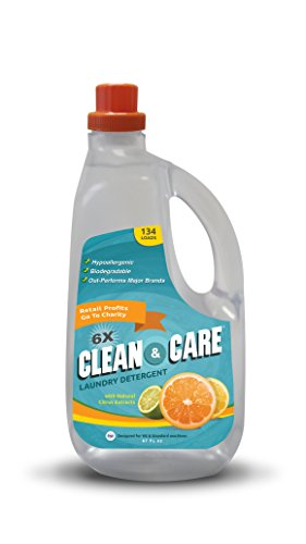 besway-clean-care-laundry-detergent-hypoallergenic-biodegradable-134-loads