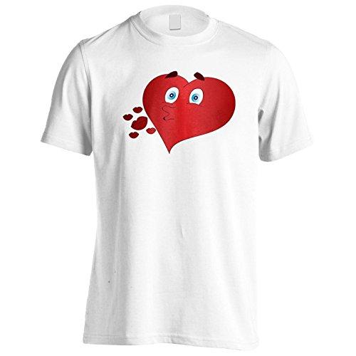 Neue Herzküsse Herren T-Shirt l512m