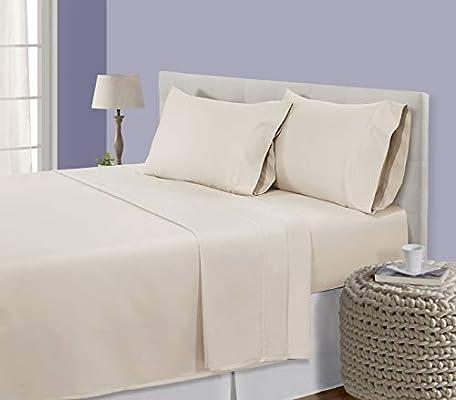All Size 1000 TC 100/% Pima Cotton Pink Solid Split Bed Sheet Set 5 PCs