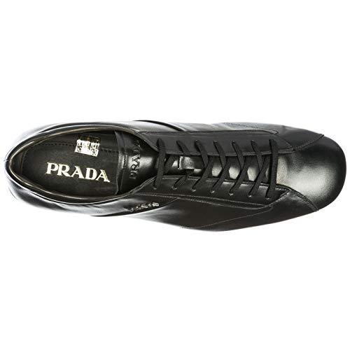 Nero Nuove Scarpe in Sneakers Uomo Pelle Prada 4HAq1fwxw