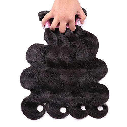 - Body Wave Bundles Brazilian Hair Weave Bundles 8-40inch Human Hair Bundles Non Remy Hair,28inches