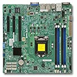 Supermicro Motherboard MBD-X10SLH-F-O Xeon E3-1200L GA1150 C226 DDR3 1600 SATA PCI Express USB microATX Retail (MBD-X10SLH-F-O)