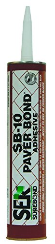 SEK Surebond SB-10 Paverbond Q Solvent-Based Resin Adhesive Sealant, 1/8