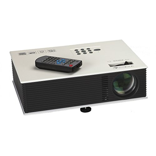Sima XL-PRO-35 16.7 Million Vivid Color LED Digital Projector with USB, White