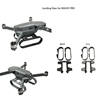 MoreToys Landing Gear Lengthened Height Extender Stabilizer with RF-V16 GPS Holder Bracket for DJI Mavic Pro Quadcopter Drone by MoreToys