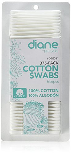 Diane Cotton Swabs 375 Pack from Diane