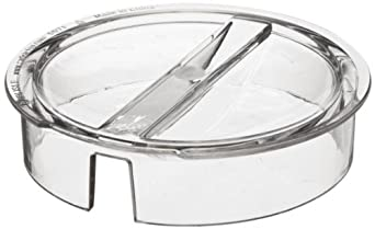 Carlisle 557107 Clear Polycarbonate Lid for Elan Pitchers (Case of 6)