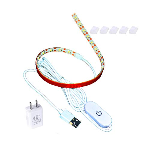 Great Features Of Led Sewing Machine Light Set,15 inch Working Lighting Strip Kit + 5ft Cord with To...