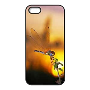 Cool Painting Dragonfly Brand New Cover Case for Iphone 5,5S,diy case cover case630198