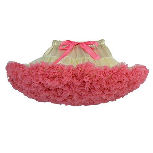 Rouge Tutu Jupe Mini de De Danse En Femme Courte Ballet Tulle Jupe pastque Courte Jupe Beige Tulle UtI866