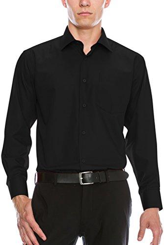 4xl black dress shirt - 9