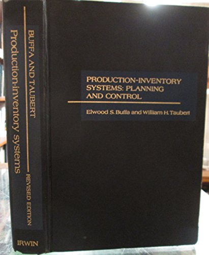 Inventory Systems (Production-inventory Systems: Planning and Control)