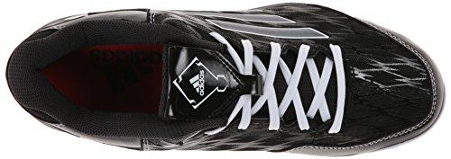 adidas Performance Damen PowerAlley 2 TPU W Softball Cleat Schwarz / Carbon / Weiß
