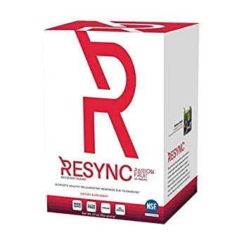 RESYNC – Clinically Formulated Nitric Oxide Booster Inflammatory Support Featuring Unrivaled Ingredients Oxystorm, Red Spinach, Beet Root, Aronia Berry, Inulin, Careflow More 10 Servings