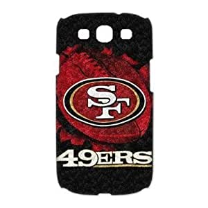 Individual fixed NFL San Francisco 49ers Samsung i9300 Galaxy S3 Cover, Snap On NFL San Francisco 49ers Samsung S3 by runtopwell