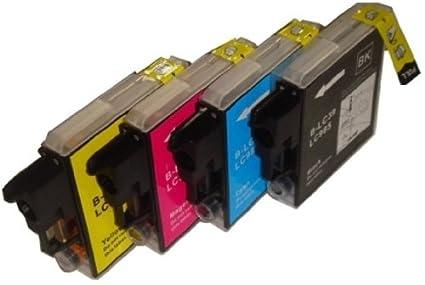 4 x LC39, LC985 para Brother MFC-J220 - hermano cartuchos de ...