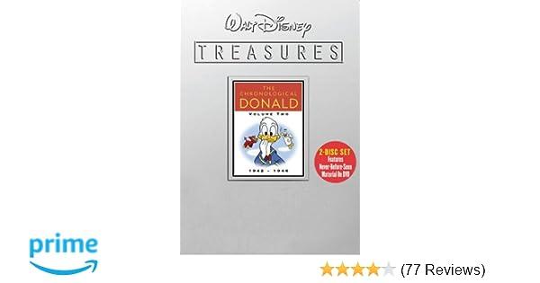 Amazon com: Walt Disney Treasures - The Chronological Donald