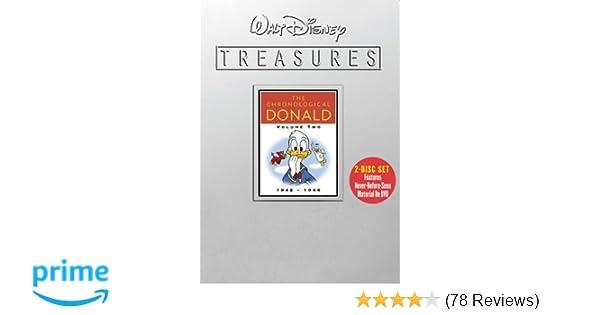 Amazon Walt Disney Treasures The Chronological Donald