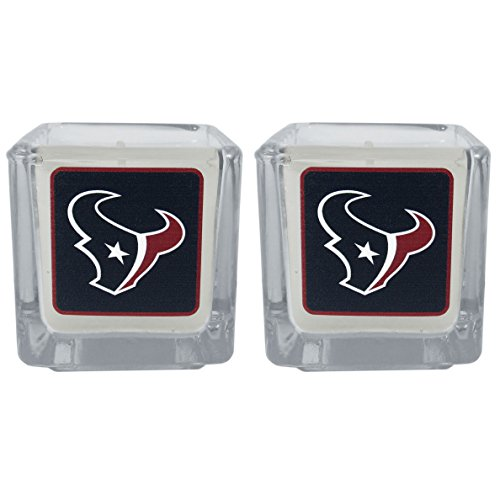 NFL Houston Texans Graphics Candles, Set of 2