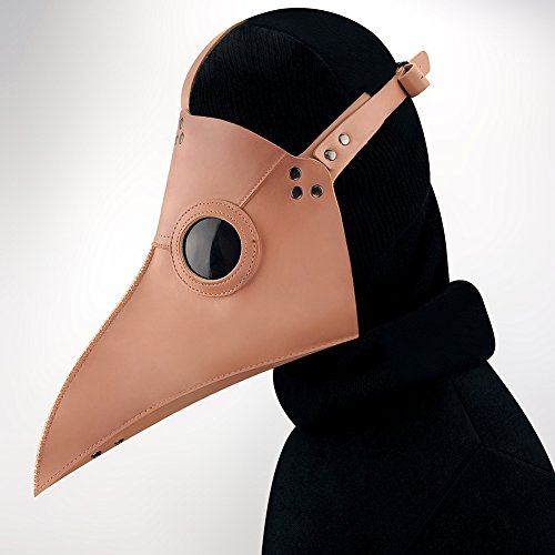 ShiningLove Steampunk Plague Bird Mouth Doctor Mask Fancy Retro Halloween Face Mask by ShiningLove (Image #3)