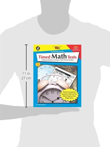 Amazon.com: Timed Math Tests, Addition and Subtraction, Grades 2 ...