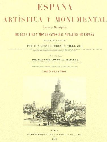 Descargar Libro España Artistica Y Monumental Vol. Ii Genaro Perez De Villa-amil