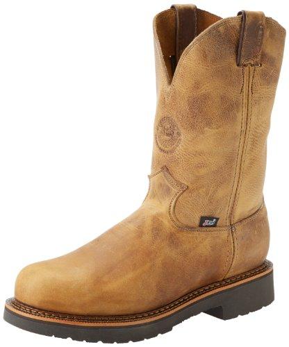 "UPC 731871884023, Justin Original Work Boots U.S.A. Men's J-Max 11"" Steel Toe Pull-On Boot,Rugged Tan Gaucho,7.5 2E US"
