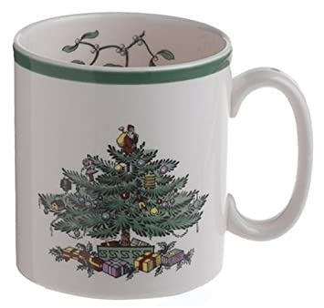 Amazon.com | Spode Christmas Tree Mug: Spode Christmas Dinnerware ...