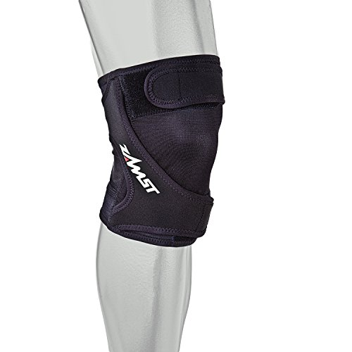 Zamst RK-1 Runners Left Knee Brace, Black, Medium