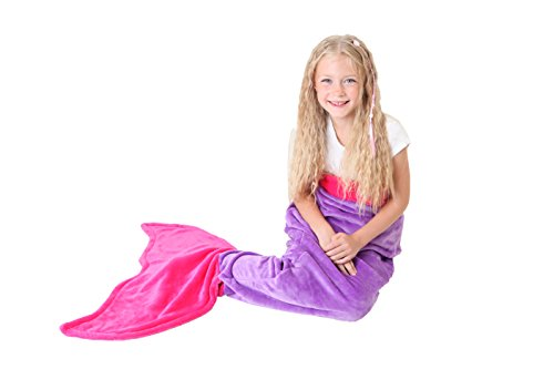 Mermaid Tail Blanket - Super Soft and Wa - Doll Pink Dress Shopping Results