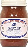 Hell on the Red Salsa, Dip Party Mild, 16 Ounce (Pack of 12)