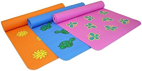 YogaDirect Fun Yoga Mat for Kids