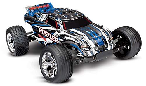 Traxxas 1/10 Scale Rustler 2WD Stadium Truck, Blue (Rtr Nitro Traxxas Rustler)
