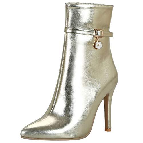 Moda 3 Bootie Mostrar  quinine Lydee oro Zapatos Mujer aHqR5R  quinine Mostrar 6fa675