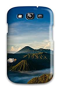Best Galaxy S3 Cover Case - Eco-friendly Packaging(stratovolcano Bromo) 7652616K89925760