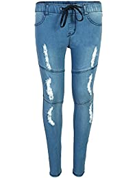 Jeans Girls Soft Denim Stretchy Jeggings